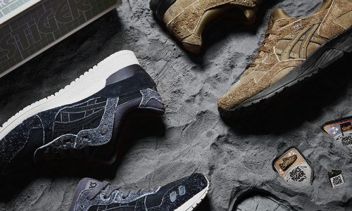 """size? x ASICS – """"Far Side of the Moon"""" Pack"""