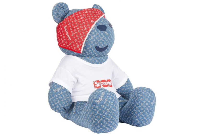 Supreme x Louis Vuitton Teddy Bear 2