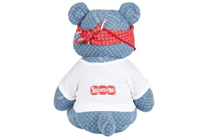 Supreme x Louis Vuitton Teddy Bear 3
